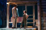 """To Kill a Mockingbird,"" adapted by Christopher Sergel from Harper Lee, at Harlequin Productions in Olympia, Wash., through Sept. 12. Pictured: Aaron Lamb and Loren Kattenbraker."